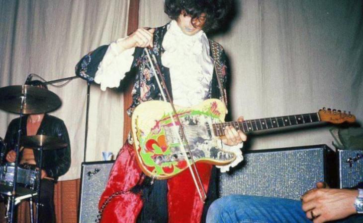 'The Mystical Journey of Jimmy Page's '59 Telecaster' il video animato che racconta la storia della famosa chitarra