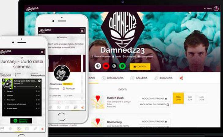 Kleisma: piattaforma professionale per musicisti