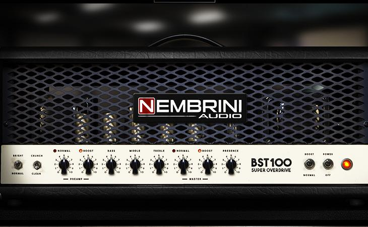 Nembrini Audio BST100 Super Overdrive Amplifier plugin