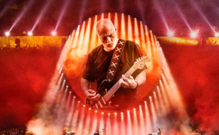 David Gilmour online il video integrale del Live in Pompeii