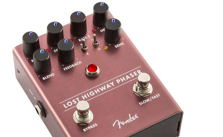 Lost Highway: Fender testa il phaser super-versatile