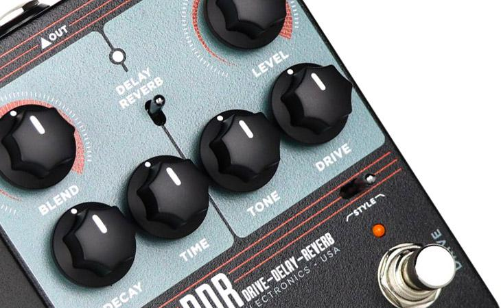 Keeley DDR: Drive, Delay e Reverb in un pedale