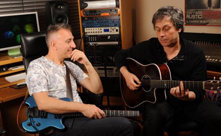 Esempi dalle chitarre di Corrado Rustici e Peppino D'Agostino