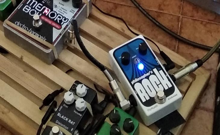Philosopher's Rock: Fuzz - Sustainer di Pigtronix