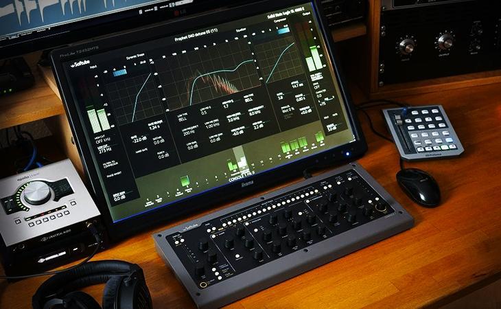 Softube Console 1 SSL SL 4000 E Vs. British Class A Vs. American Class A