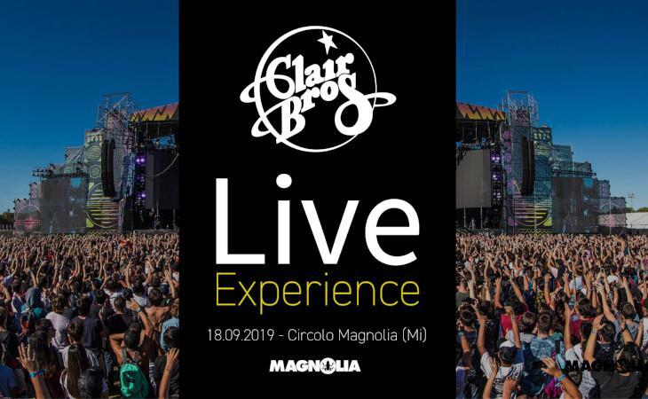 Clair Brothers Live Experience il 18 settembre al Circolo Magnolia
