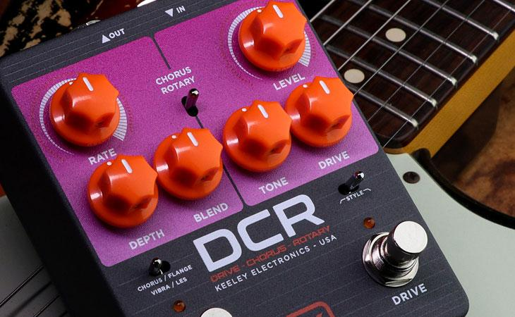 Keeley DCR: overdrive, chorus e rotary in uno