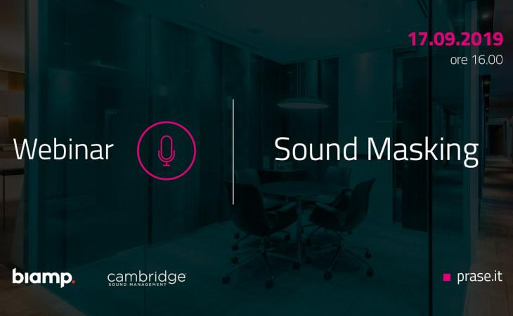 Prase: webinar sul Sound Masking