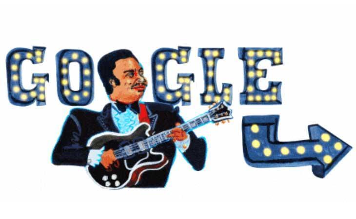 Google dedica un doodle a BB King