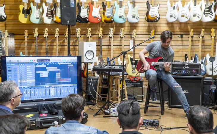 Suhr, home recording e Pete Thorn