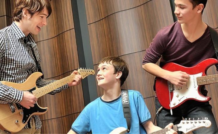 I laboratori di chitarra elettrica con Yamaha Music School per SHG Music Show Milano