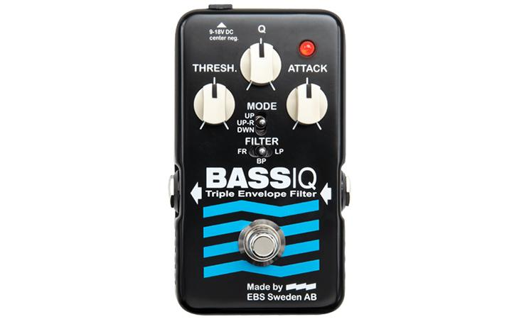 EBS BassIQ 'Blue Label' : Triple Envelope Filter