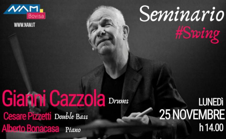 Seminario con Gianni Cazzola, il 25 novembre al Nam Bovisa