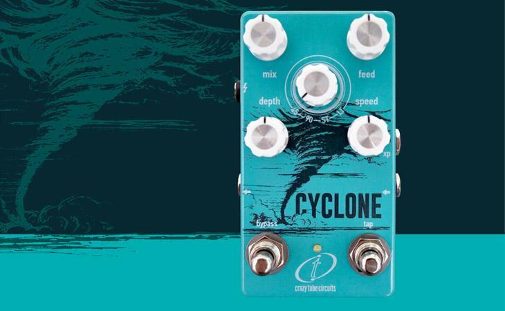 Cyclone: phaser con tap tempo e 4 voci