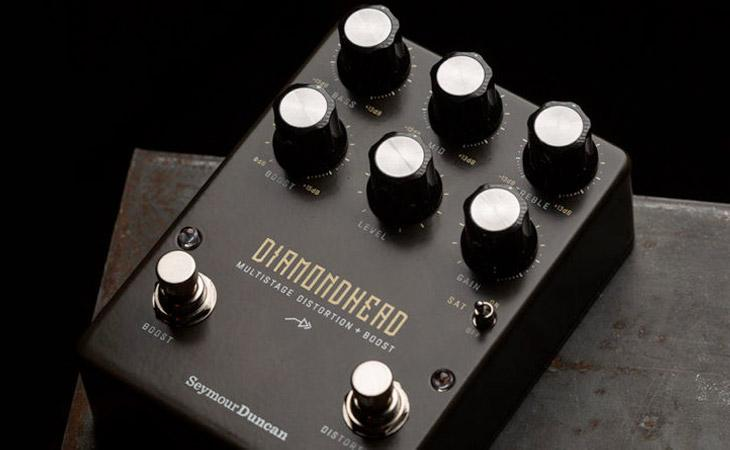 Diamondhead: distorsore e boost da Seymour Duncan