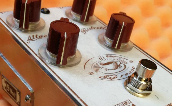 Espresso: compressore artigianale a 4 controlli di Fattoria Mendoza