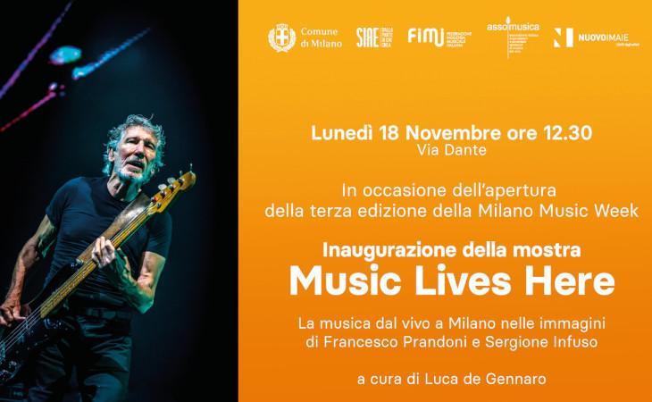 Milano Music Week: il programma di lunedì 18 novembre