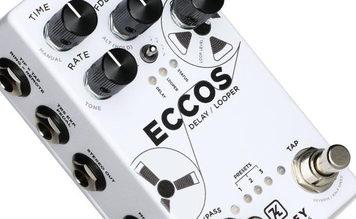 Eccos: tape echo e looper programmabili a pedale