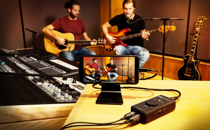 IK Multimedia iRig Mics e iRig Stream