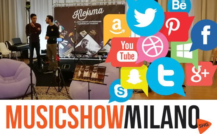 Kleisma a SHG Music Show Milano 2019