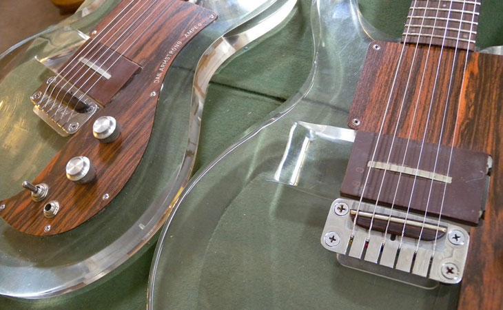 1969 Ampeg Dan Armstrong: la chitarra trasparente