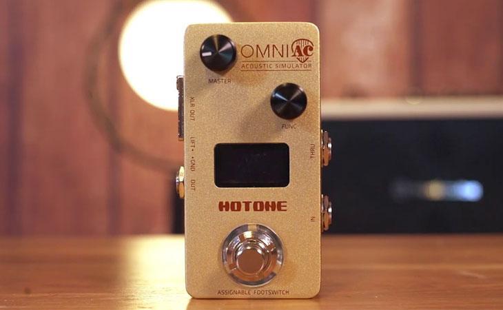 Hotone Omni AC: preamp e simulatore per acustica (e non solo)