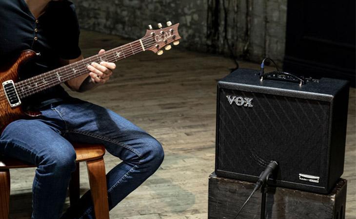 Nutube abbraccia il modeling: Vox Cambridge 50