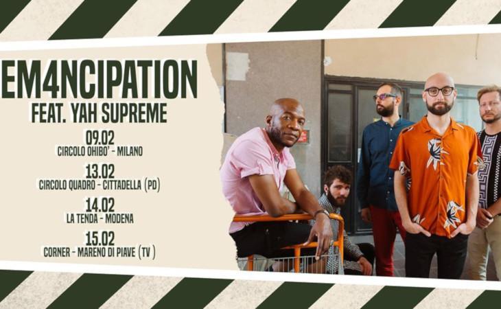 Blowing Time Away il nuovo album degli Em4ncipation