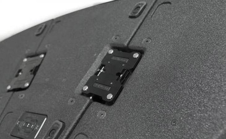 Moduli curvi per il VIO di DB Technologies