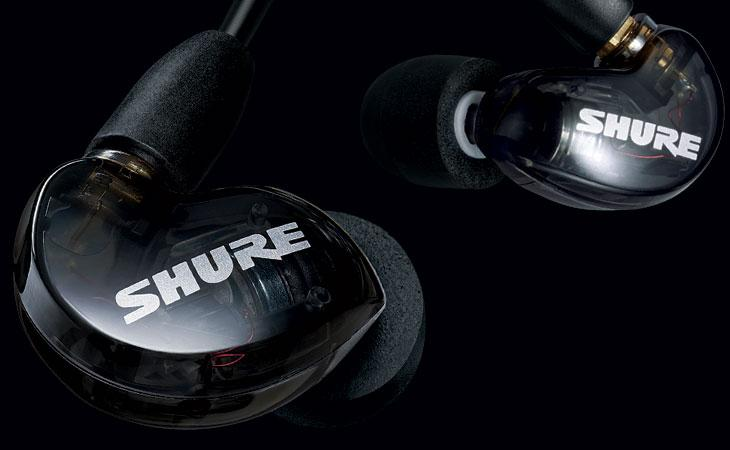 Le Shure SE215 tornano in nero