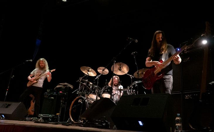 The Aristocrats: briciole del live a Napoli