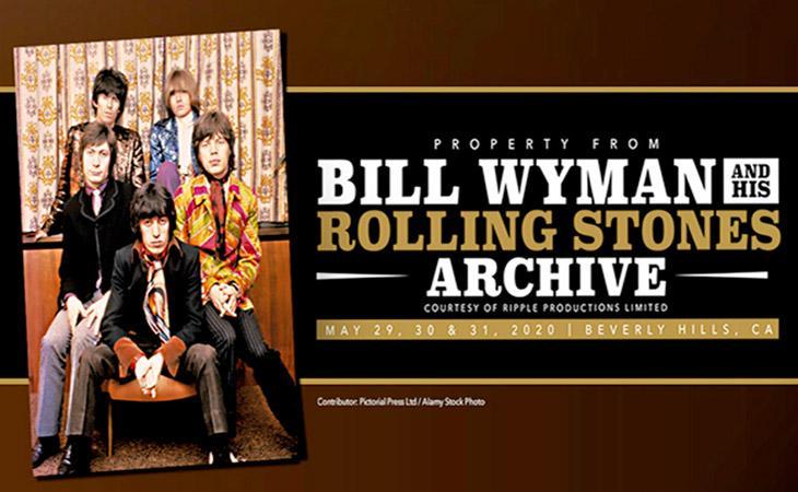 All'asta gli strumenti dei Rolling Stones