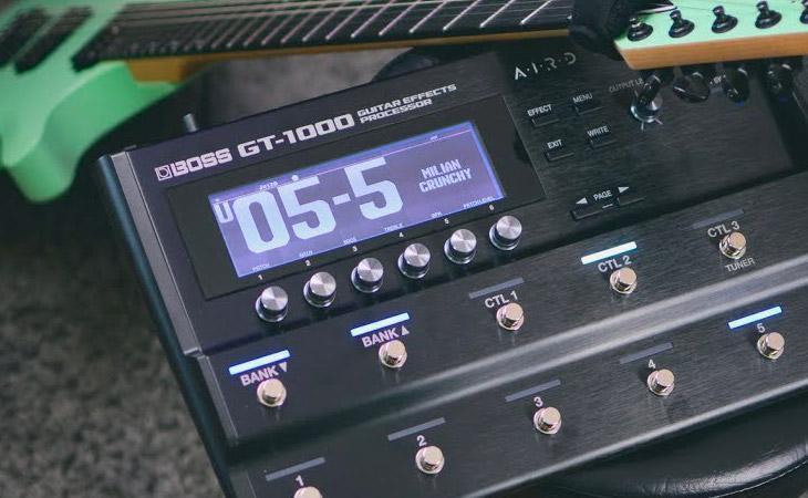 Boss: nuovo software per la GT-1000