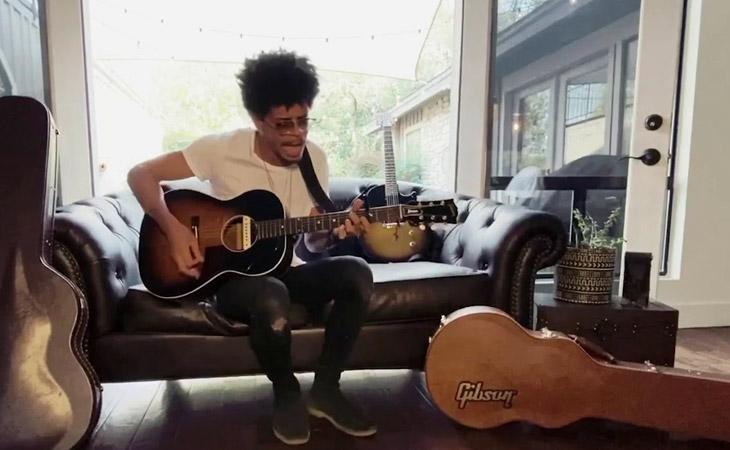 Gli artisti Gibson dal vivo, da casa