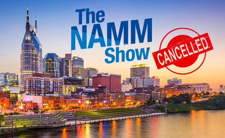 Covid-19: cancellato il Summer Namm 2020