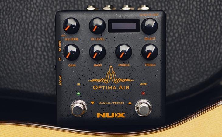 Optima Air: IR acustici programmabili da NUX