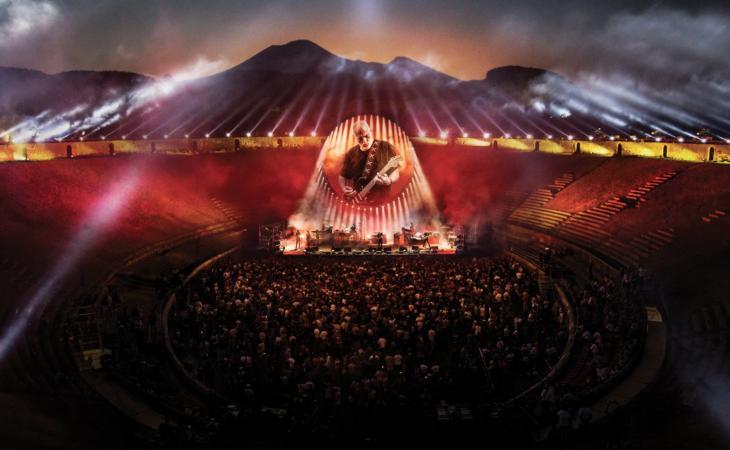 "David Gilmour: ""Live At Pompeii"" stasera in streaming integrale"
