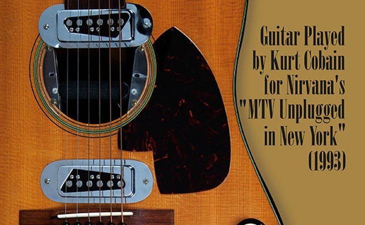 L'ultima Martin di Kurt Cobain all'asta per cifre record