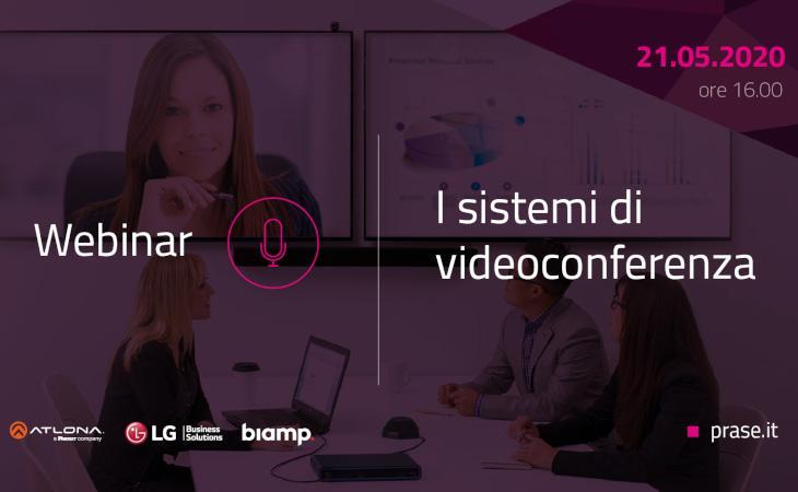 Prase: webinar dedicato alle soluzioni per video conferenza
