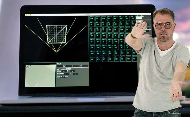 Midifly: il controller MIDI è il tuo corpo