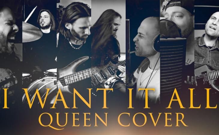 I Want It All: la cover tributo ai Queen di sei musicisti italiani