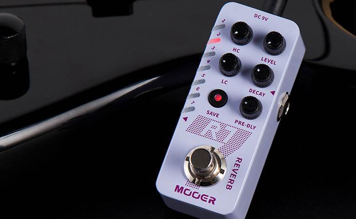 Mooer R7: grandi riverberi in miniatura