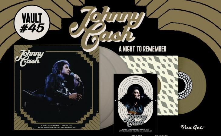 Johnny Cash: in arrivo un album inedito