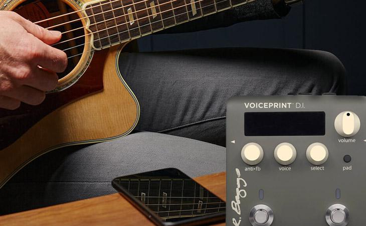 Voiceprint DI: IR fai-da-te per chitarra acustica